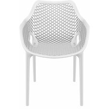 Dining Arm Chairs Black modern white outdoor dining chairs | allmodern