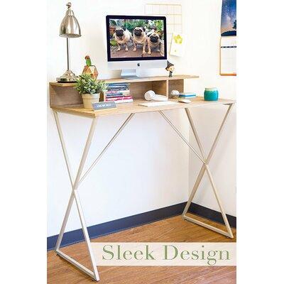 Dreiling Standing Desk with Storage Cubbies Brayden Studio