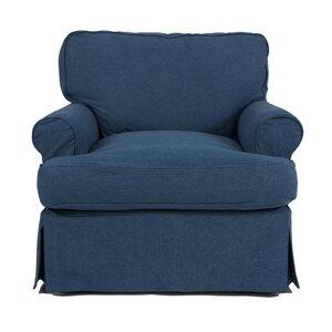 Coral Gables T-Cushion Armchair Slipcover