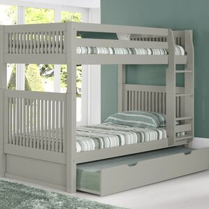 Twin Bunk Bed with Trundle by Camaflexi
