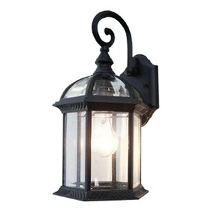 Outdoor wall lighting barn lights youll love wayfair contemporary 1 light outdoor wall lantern aloadofball Image collections