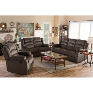 Haverville 3 Piece Living Room Set by Latitude Run
