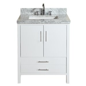 White Bathroom Vanity 30 Inches 26 to 30 inch bathroom vanities you'll love | wayfair