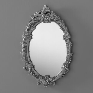 Silver Oval Mirrors Youll Love Wayfaircouk