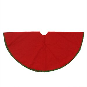 christmas traditions shell stitching mini christmas tree skirt - Christmas Tree Skirts