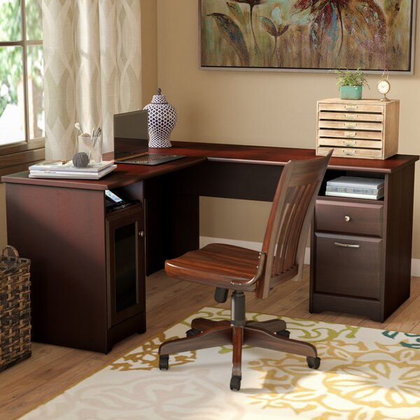 Red Barrel Studio Hillsdale L Shaped Executive Desk