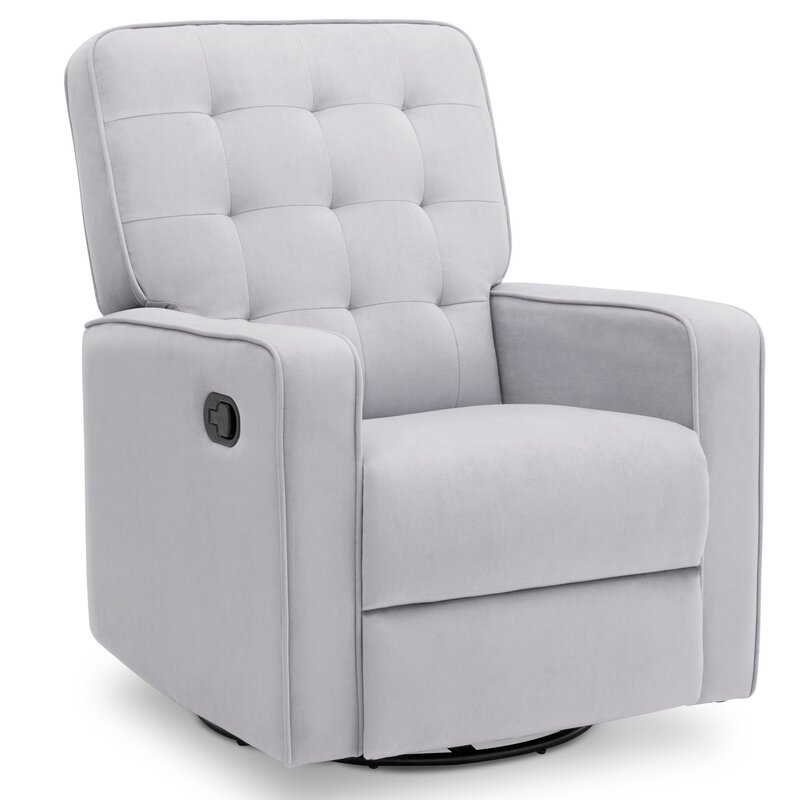 Gavin Nursery Manual Swivel Glider Recliner