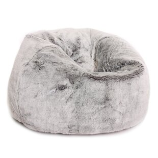 72b34da2ad Kids Faux Fur Bean Bag Chair
