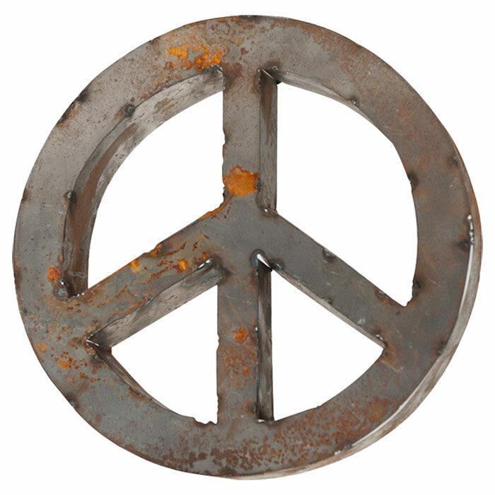Outdoor Peace Sign | Wayfair