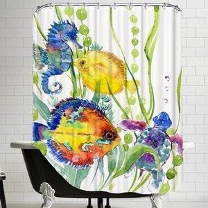 Seaworld Shower Curtain
