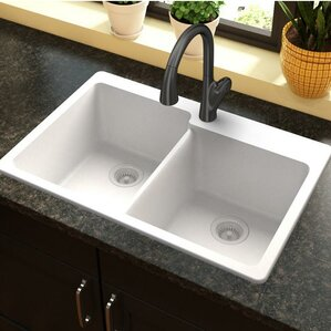 Bathroom Sinks Top Mount top mount farmhouse sink | wayfair