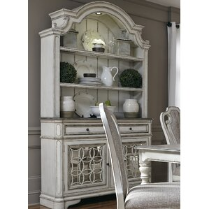 Tiphaine Lighted China Cabinet by Lark Ma..