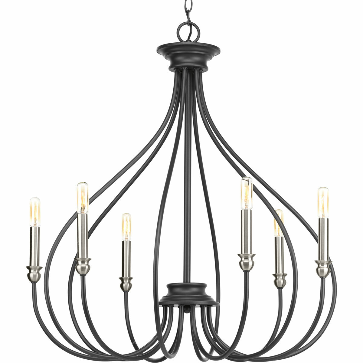 Gracie oaks chaney 6 light candle style chandelier reviews wayfair