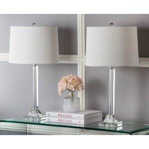 Tyrone Column 27″ Table Lamp (Set of 2)