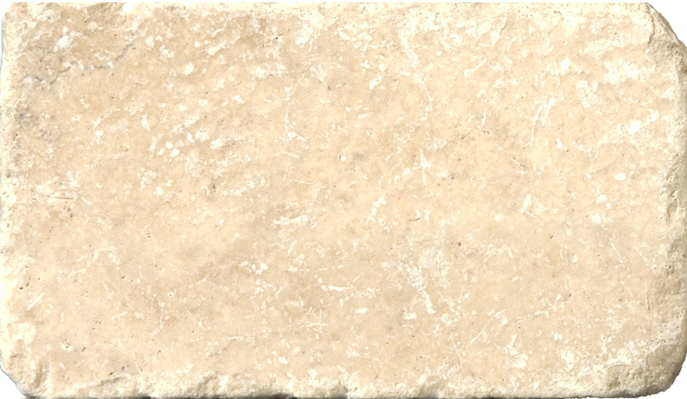 Emser tile travertine 3 x 6 subway tile in tumbled cream travertine 3 x 6 subway tile in tumbled cream doublecrazyfo Gallery
