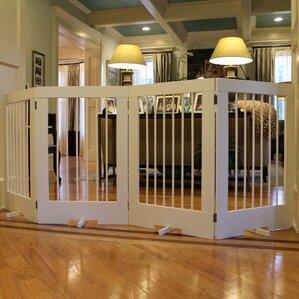 4 panel tall pet gate - Doggie Gates