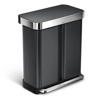 poubelles de cuisine type multi compartment trash recycling bins. Black Bedroom Furniture Sets. Home Design Ideas