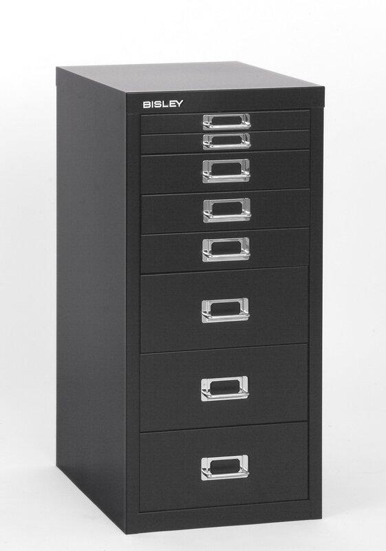 Bisley 8 Drawer Vertical File & Reviews   Wayfair