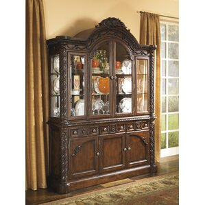 Chapell Lighted China Cabinet by Astoria ..