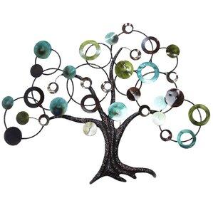 Tree Wall Decor tree & nature metal wall art you'll love | wayfair