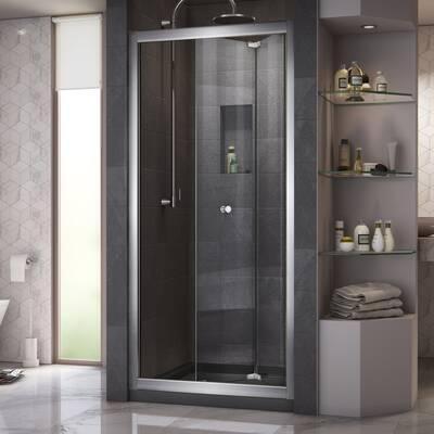Erfly 35 5 X 72 Folding Frameless Shower Door
