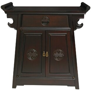 Lacquer Altar Accent Cabinet. by Oriental Furniture  sc 1 st  Wayfair & Oriental Furniture Cabinets u0026 Chests Youu0027ll Love | Wayfair