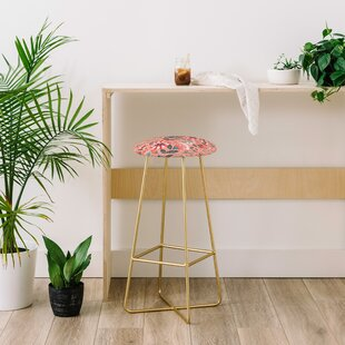 Pimlada Phuapradit Folk Floral 28 Bar Stool