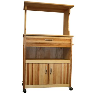 Farmhouse Microwave Cart by Catskill C..