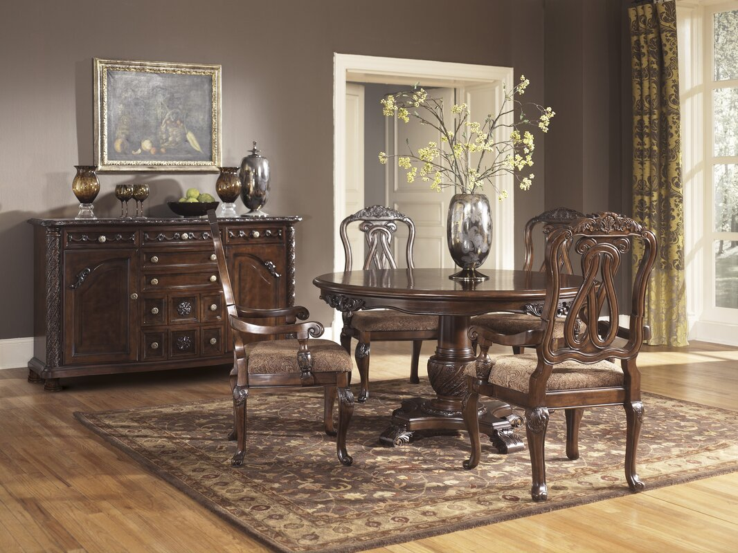 signature designashley north shore dining table & reviews