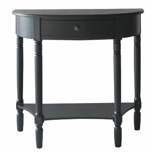 Coalton Half Moon 1 Drawer Console Table