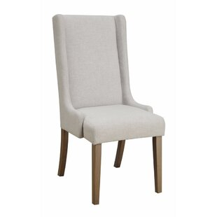Reinhardt Wingback Upholstered Dining Chair (Set Of 2)