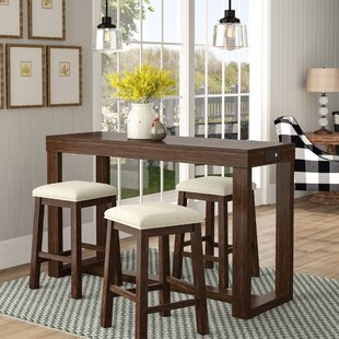 Schiavone 4 Piece Pub Table Set