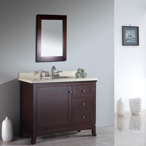 """Used Bathroom Vanity Sets For Sale: Three Posts Anzell 42"""" Single Bathroom Vanity Set"""