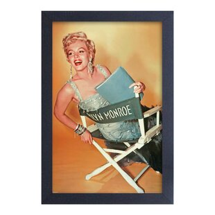 u0027Marilyn Monroe Gold Chairu0027 Framed Photographic Print  sc 1 st  Wayfair & Marilyn Monroe Chair | Wayfair