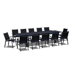 Extendable 13 Piece Dining Set