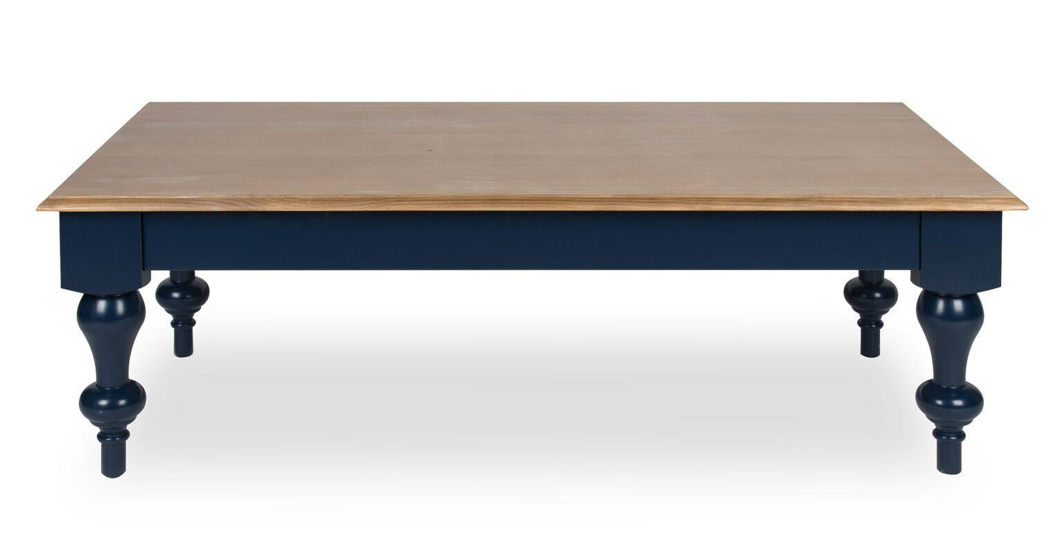 Sophia Wood Top Coffee Table