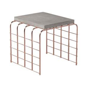 Perpetual Mesh Link Steel Side Table