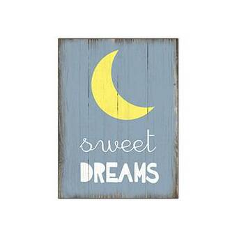 Sweet Dream Wooden Sign Wall Décor Joss Main