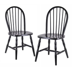 Lamlam Solid Wood Dining Chair (Set of 2) by Loon Peak