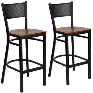 Chafin 28 Swivel Bar Stool (Set of 2)