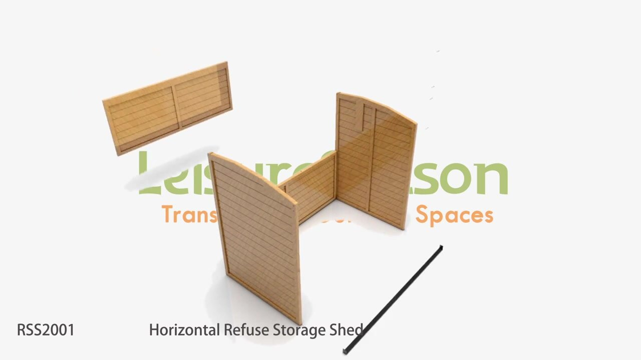 1000 Images About Garbage Can Shed On Pinterest: Leisure Season 5 Ft. 2 In. W X 2 Ft. 10 In. D Wooden
