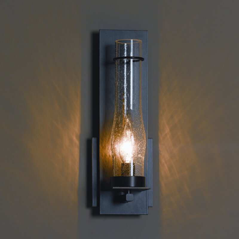 Hubbardton Forge New Town Sconce: Hubbardton Forge New Town 1-Light Armed Sconce & Reviews