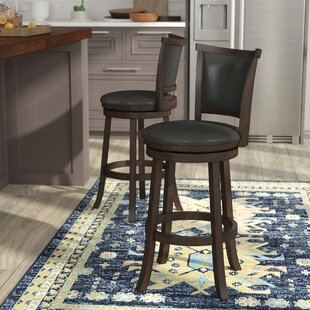 Alzamora 29 Swivel Bar Stool (Set of 2)