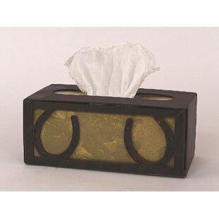 Horseshoe Rectangular Tissue Box Cover