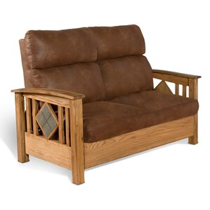 Framingham Stationary Standard Loveseat by Loon Peak