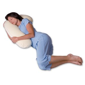 Snuggle Buddy 500 Thread Count Ergonomic Memory Foam Pillow by Snoozer Body Pillow