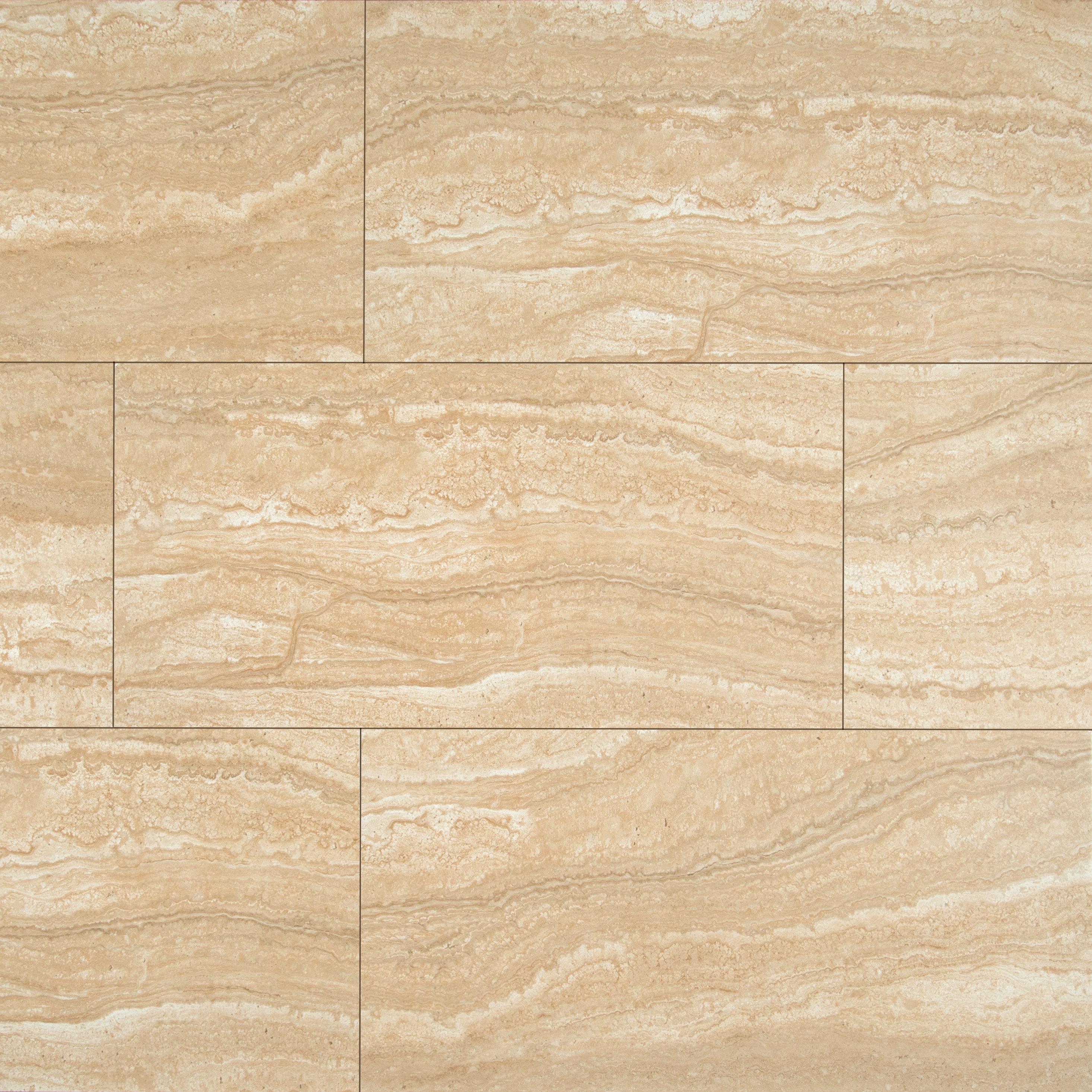 Msi Sigaro 12 X 24 Ceramic Field Tile In Dunes Wayfair
