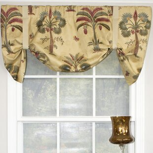 Eastchester Palm Tree Heaven Suspender 51 Window Valance