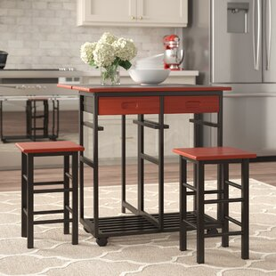 Middlebrook Kitchen Island Set (Set of 3)