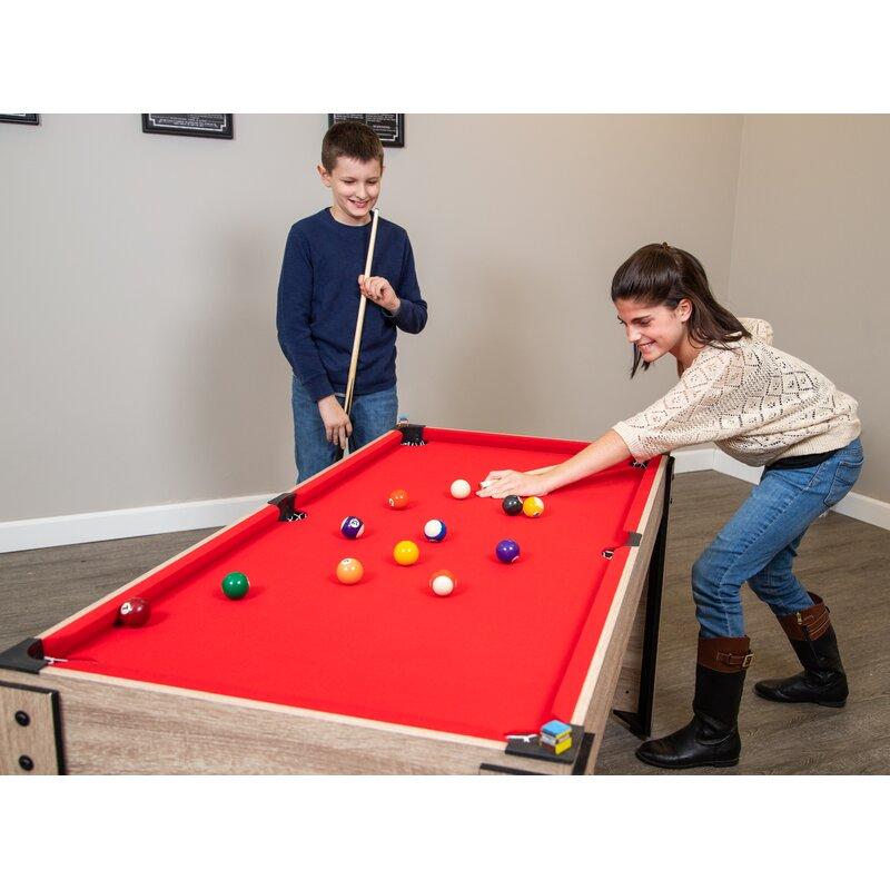 Hathaway Pool Table Billiard Ball Triangle Rack Black BG2542